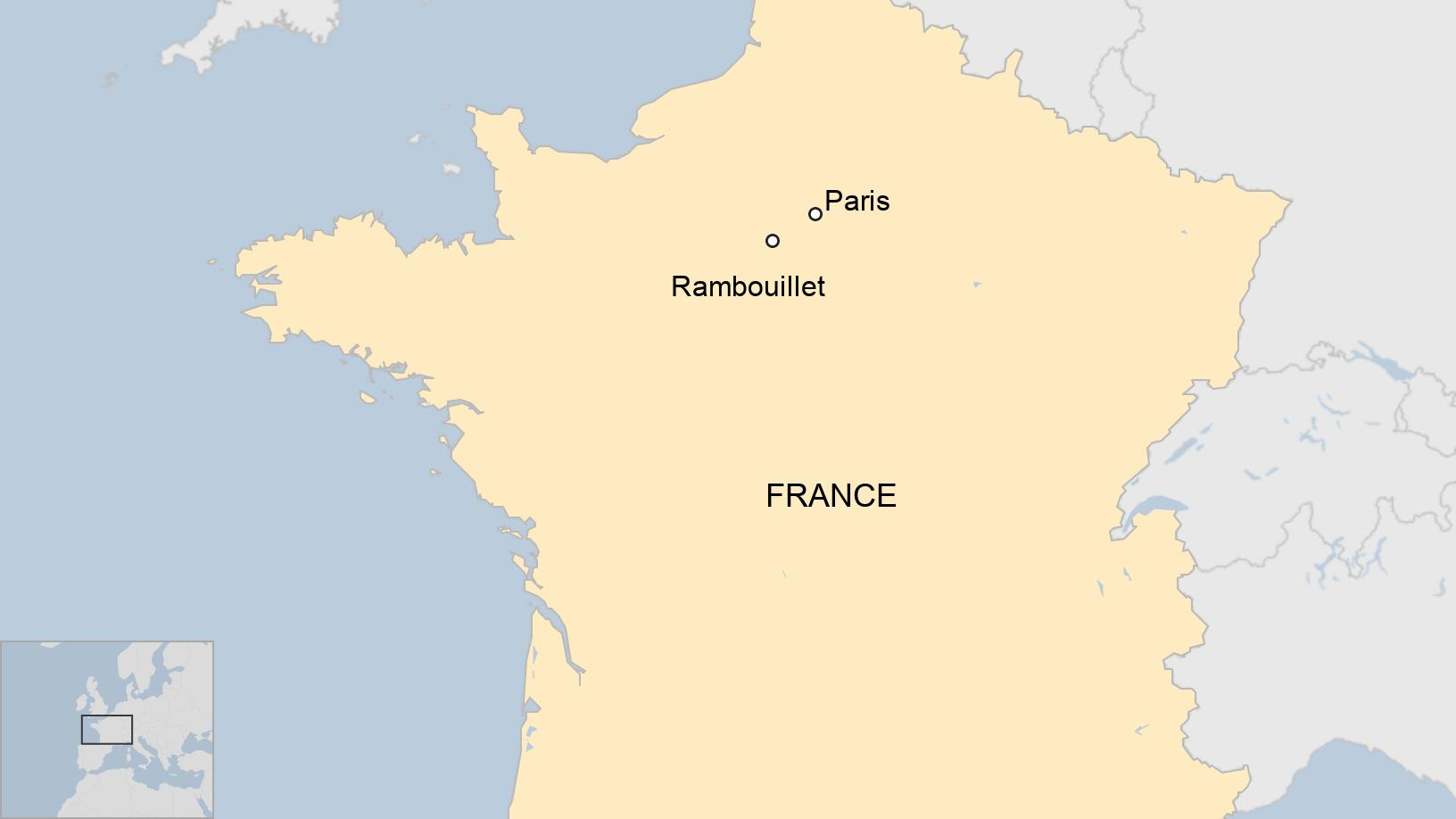 French police station stabbing: Terror inquiry into Rambouillet knife attack