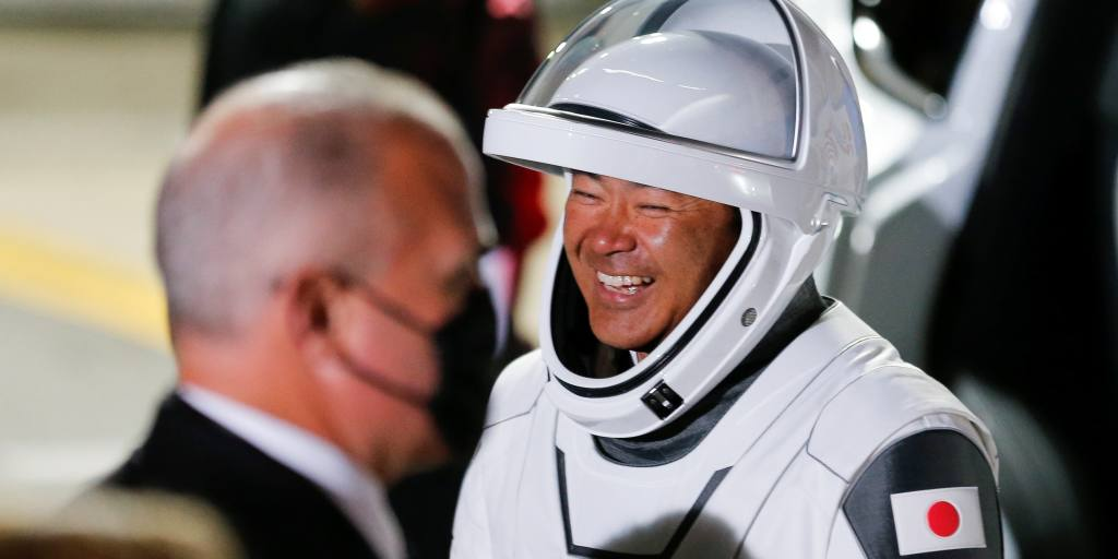 Japan's Hoshide, others head to space station aboard SpaceX rocket