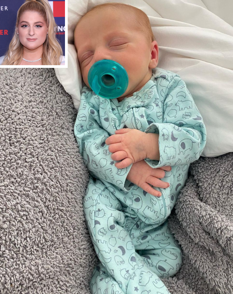 Meghan Trainor Shares Video of 2-Month-Old Son Riley's 'Rocky Start': He Is Now 'Happy and Healthy'