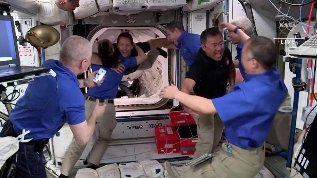 4太空人顺利抵达 太空站人数10年来最多