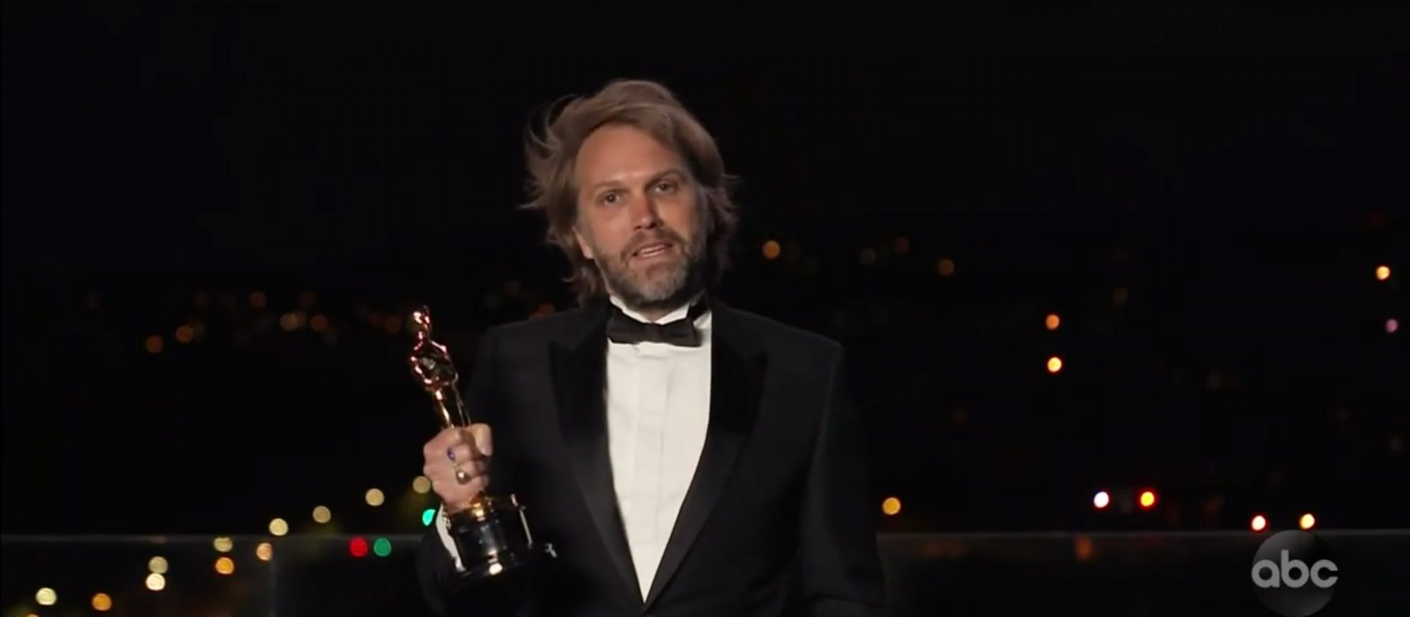The Father's Florian Zeller Says He 'Wrote the Script' for Anthony Hopkins as He Wins Oscar