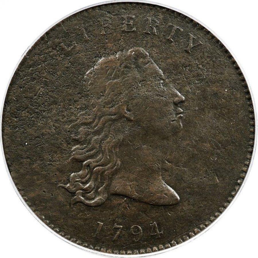 美国铸币原型 1794年硬币拍卖价84万美元