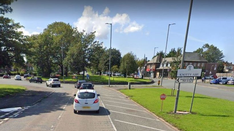 Liverpool crash: Three people die as car hits roundabout