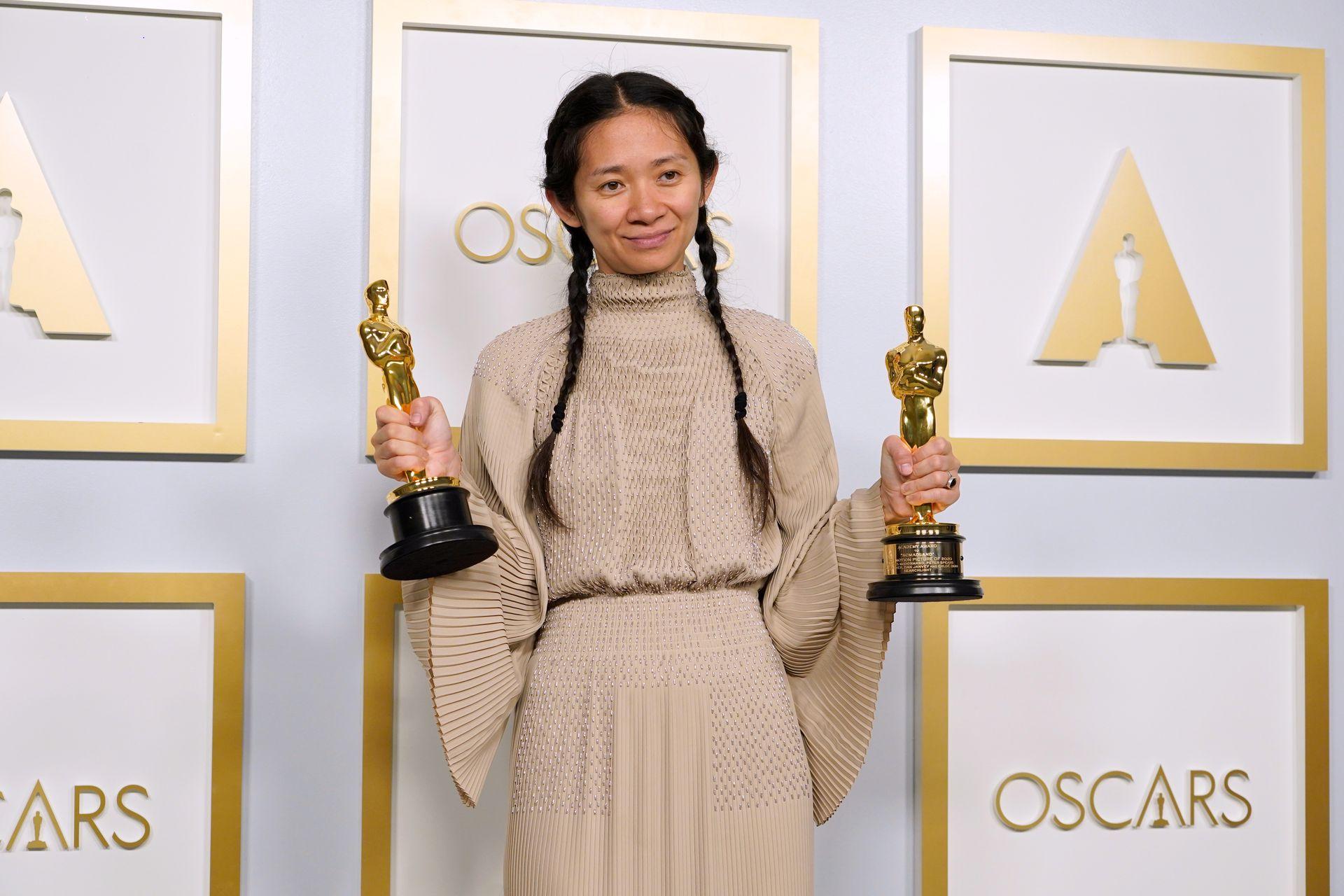 赵婷获奖对亚洲女性在好莱坞的象征意义(图)