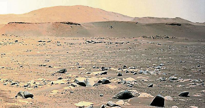美机智号火星第三度飞行