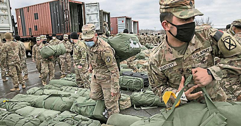向阿富汗军队移交基地 外国部队先撤