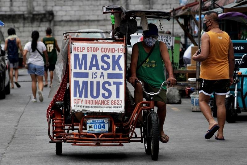 菲律宾累计确诊病例突破百万