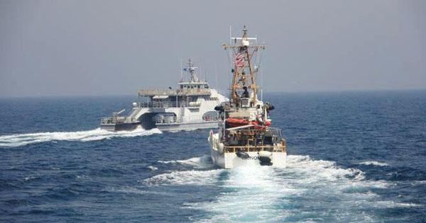 伊朗4舰艇挑衅美巡逻船 波斯湾恶斗3小时
