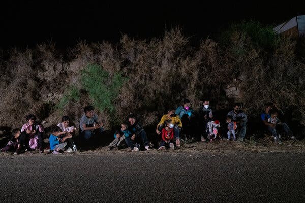 Covid on the Border: Migrants Aren't Tested on Arrival in U.S.