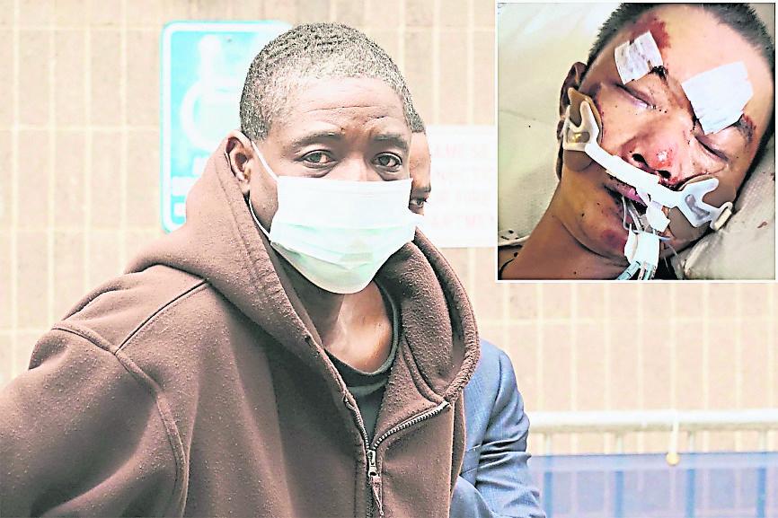 袭纽约61岁汉致昏迷 非裔男被控企图谋杀