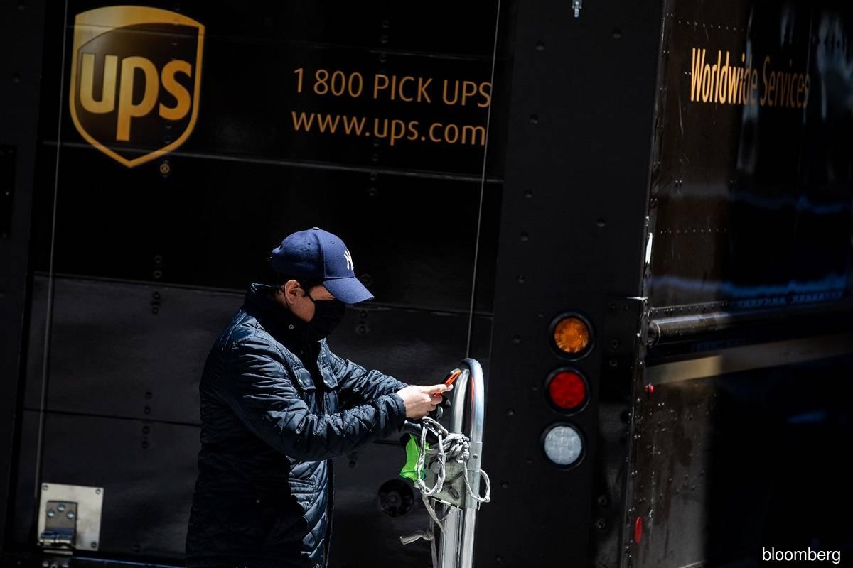 UPS revenue tops estimates as pandemic drives e-commerce deliveries