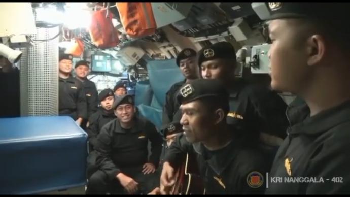 唏嘘! 印尼潜艇惨剧海军生前齐唱《再见》