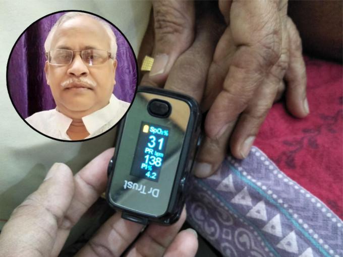 印度65岁记者染疫 Twitter直播死亡过程