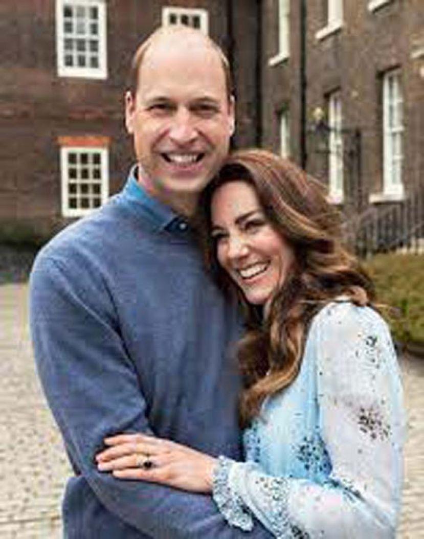 结婚10周年 威廉凯特公开甜蜜照片