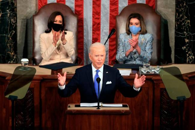 Biden hails US Covid fight as one of 'greatest logistical achievements'