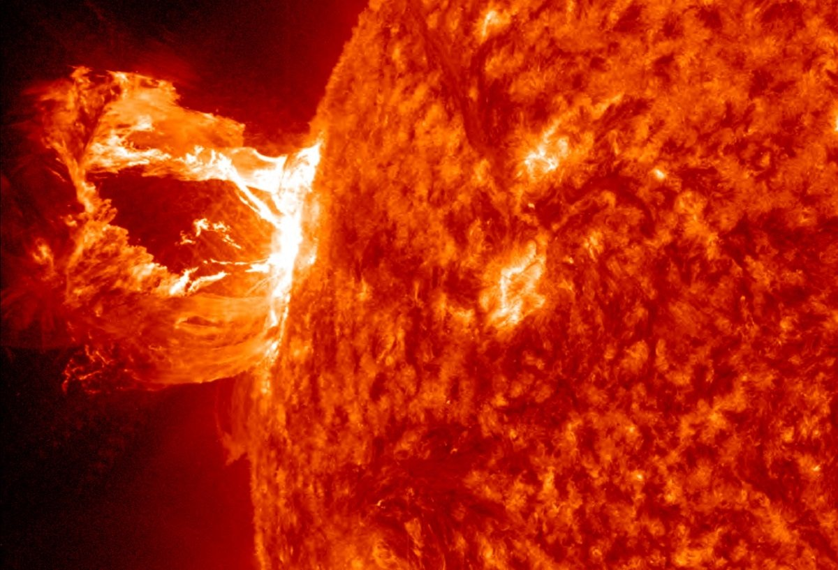 Earth under solar storm warning, vital technology at risk of failure