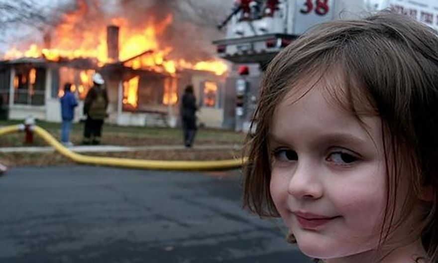 'Disaster Girl' sold NFT of her meme for $660,000