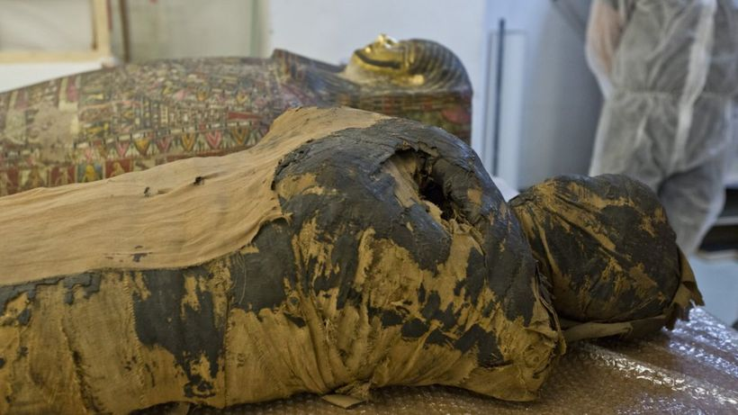Pregnant Egyptian mummy revealed by scientists