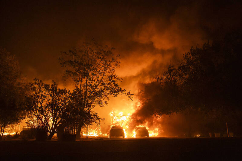 惊!加州去年大型野火竟是人为 男纵火掩盖谋杀