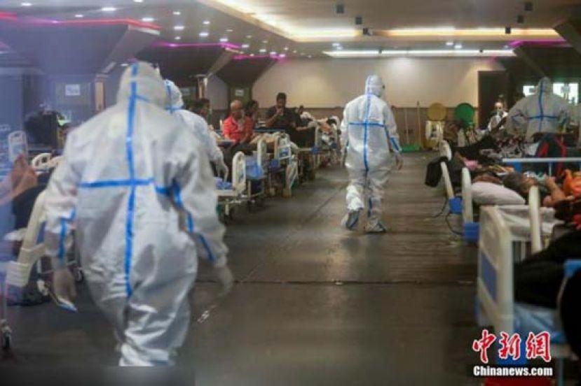 狗火葬场给人用、工业氧气转医疗……印度不堪疫情重负