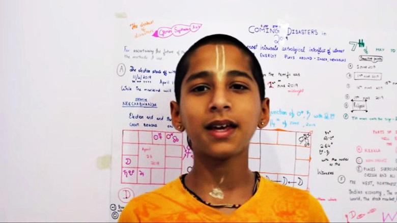 【内附视频】印度神童再预言 9月第3波高峰 明年5月好转
