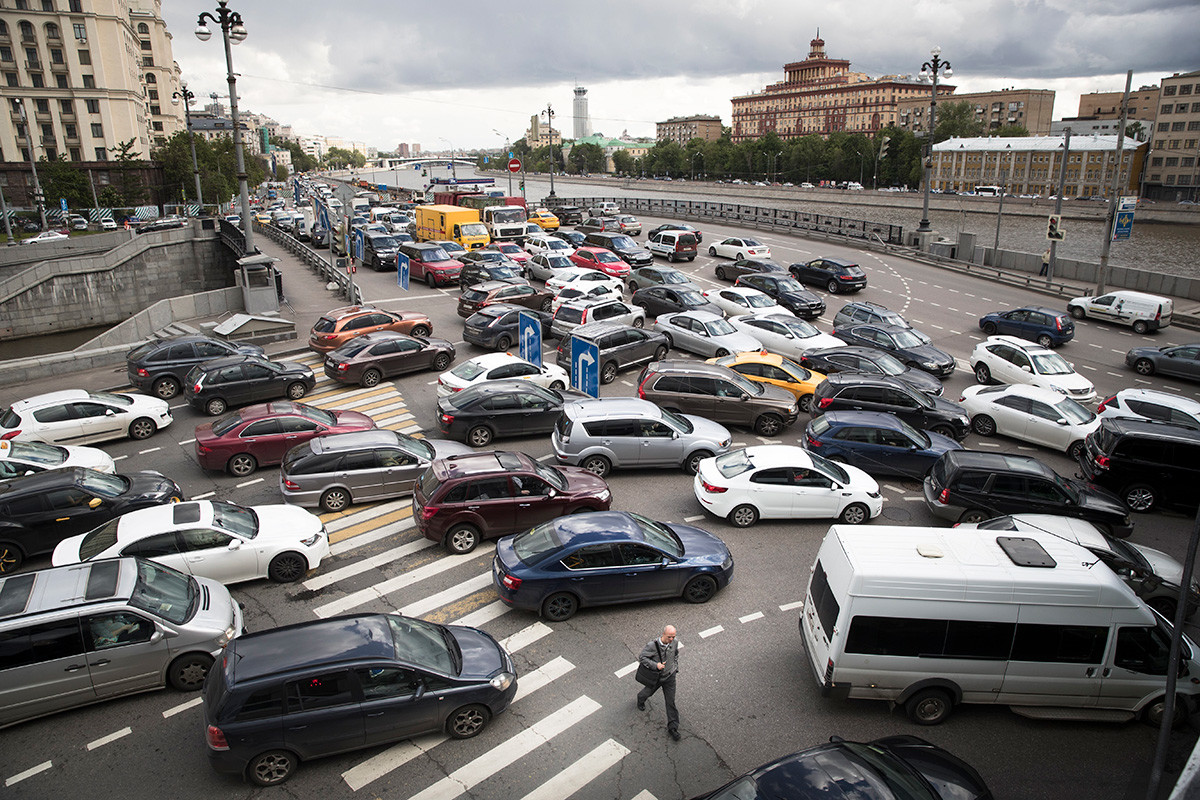 How Moscow fights traffic jams