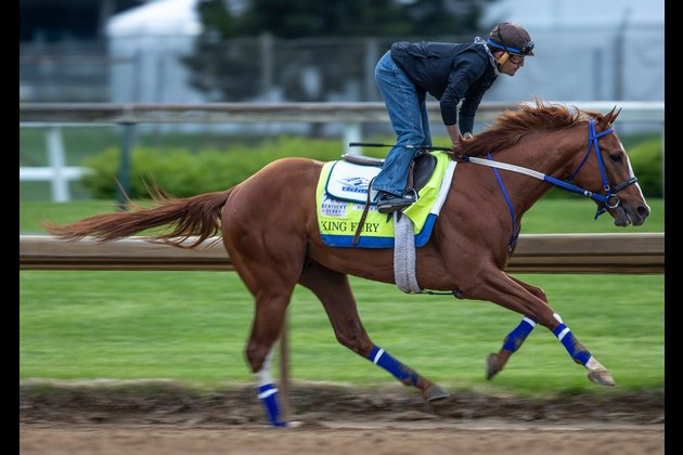 King Fury out of Kentucky Derby after spiking fever