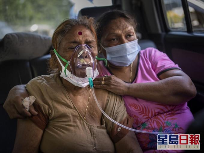 印度一日内暴增逾40万宗新冠肺炎 再创单日纪录