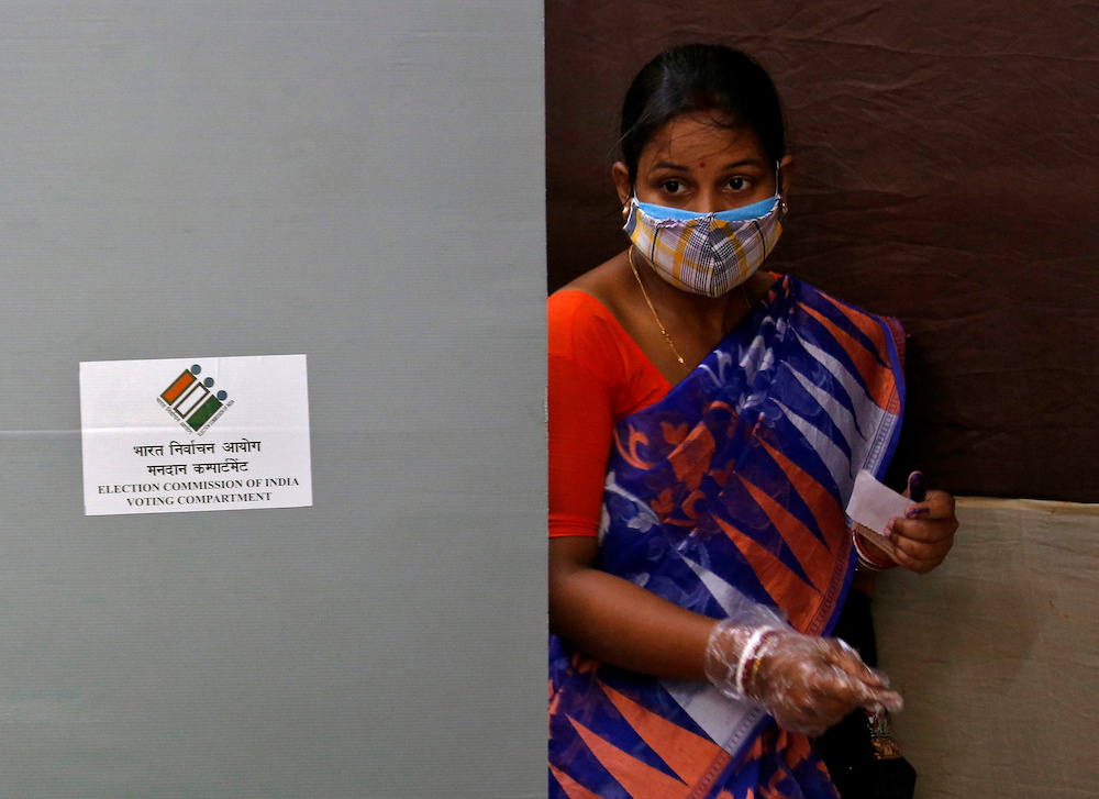 Vote count in five Indian states begins amid pandemic