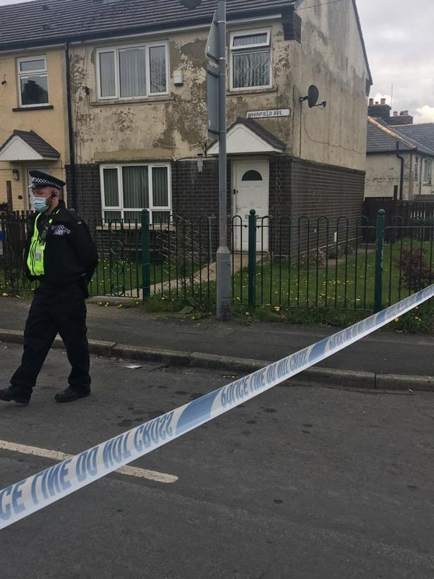Great-gran evacuated in terror raid with residents 'sat out in the cold' for hours