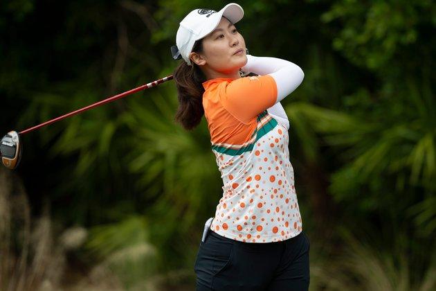 Steady Xiyu Lin takes lead at HSBC
