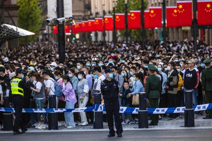 五一连假首日 中国5637万人次出游