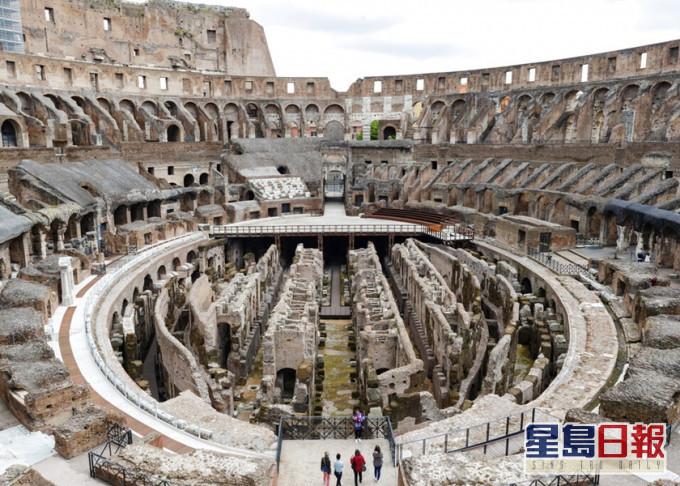 罗马斗兽场将兴建高科技舞台 重现竞赛场面貌