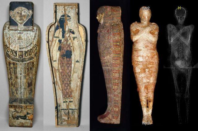 考古大发现:波兰科学家揭秘全球首次发现的孕妇木乃伊(组图)