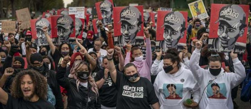 """美国""""赖特案""""继续引发示威游行 示威者呼吁警务改革"""