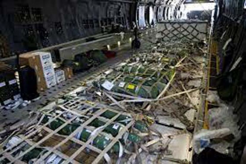 美国雷声大雨点小 竟送440个空氧气瓶