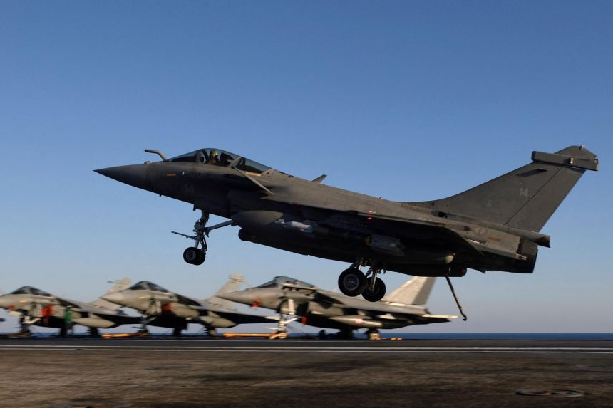 Egypt buys 30 Rafale jets from France: Military