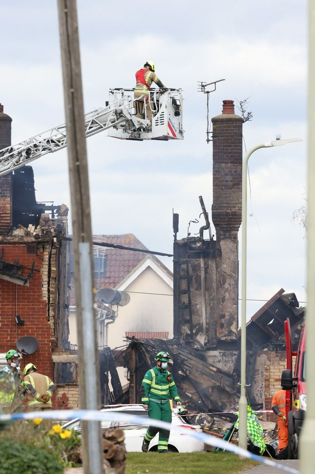 Ashford explosion: Father and son heroes found pensioner at table inside burning house