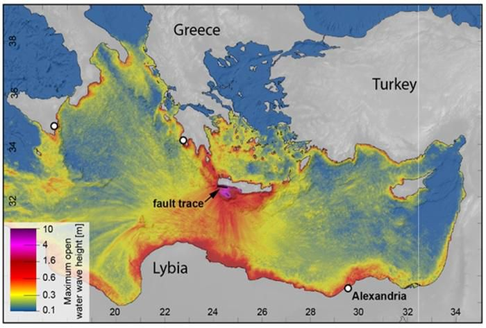 New Study Pinpoints Source Of Largest Recorded Mediterranean Earthquakes