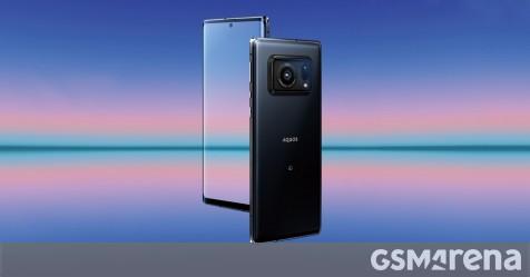"""Sharp Aquos R6 debuts with 240Hz screen and enormous 1"""" sensor - GSMArena.com news"""