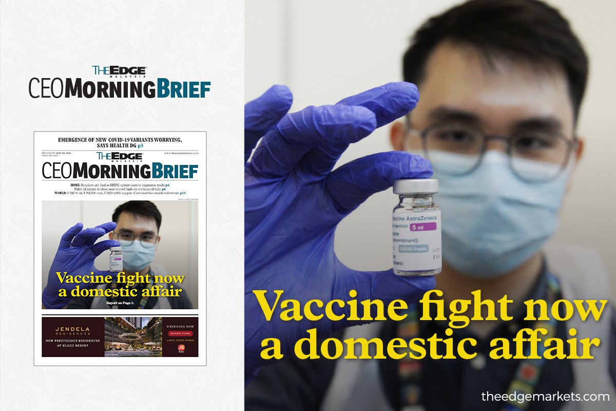 Vaccine fight now a domestic affair