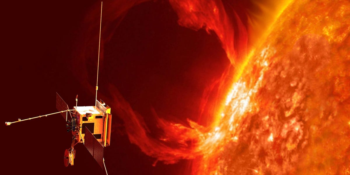 A Spacecraft Captured a Massive Eruption on The Sun's Surface For The First Time