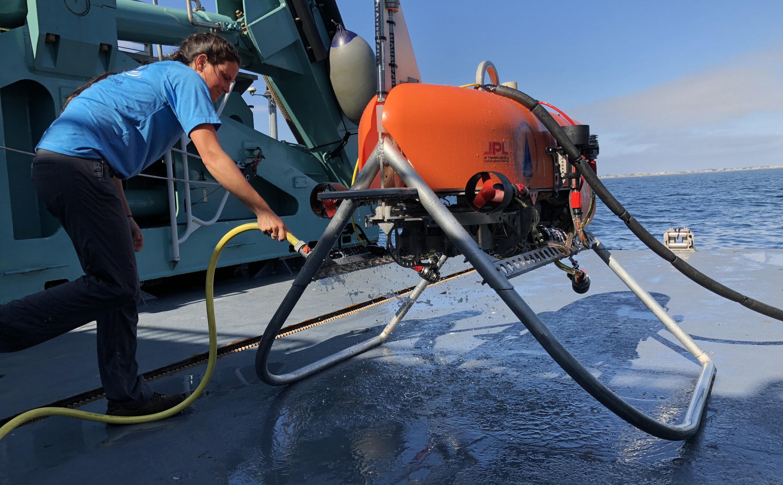 Robotic navigation tech will explore the deep ocean