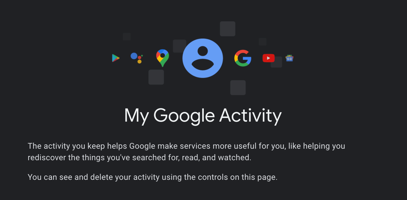 You can now password-protect your Google account's My Activity history