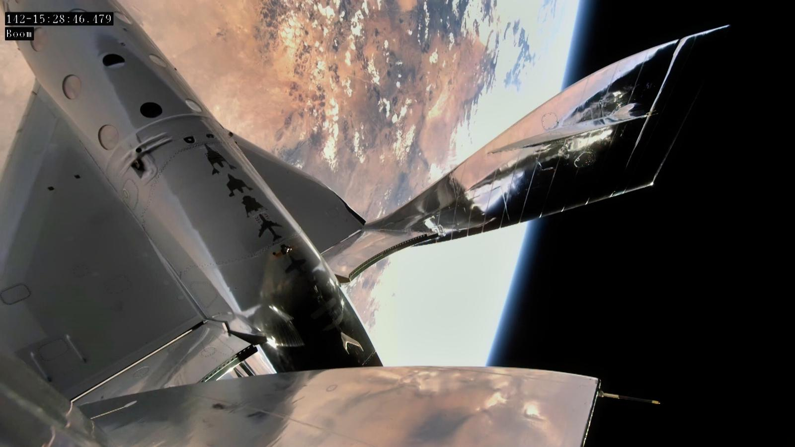Virgin Galactic's SpaceShipTwo has flown to the edge of space