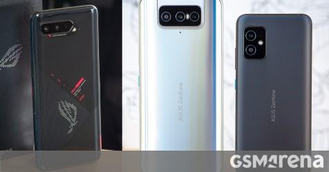 Asus releases updates for the Zenfone 8 and 8 Flip, ROG Phone 5 and 3, Zenfone 6 too - GSMArena.com news