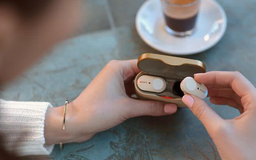 Sony WF-1000XM4 wireless earphones leak with eight-hour battery life