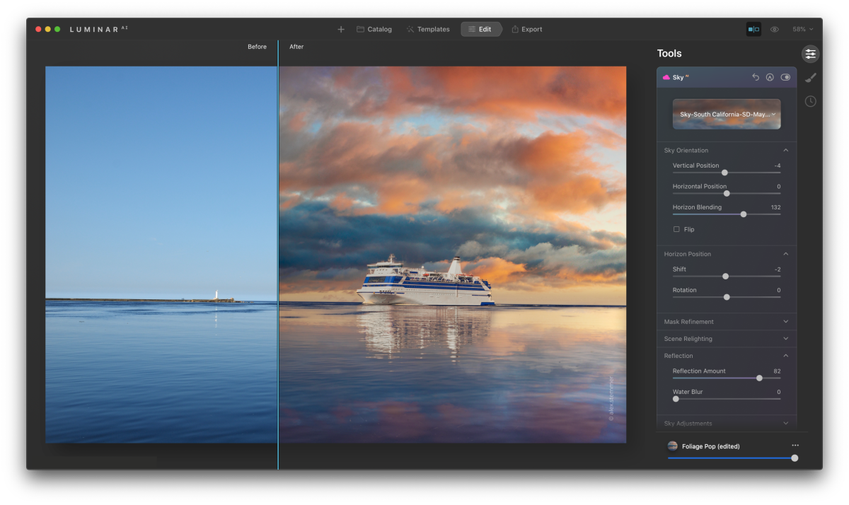 Luminar AI receives major update, adds Apple M1 compatibility