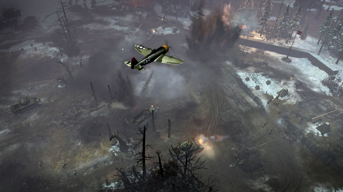 Company of Heroes 2 plus Ardennes Assault DLC are now free on Steam