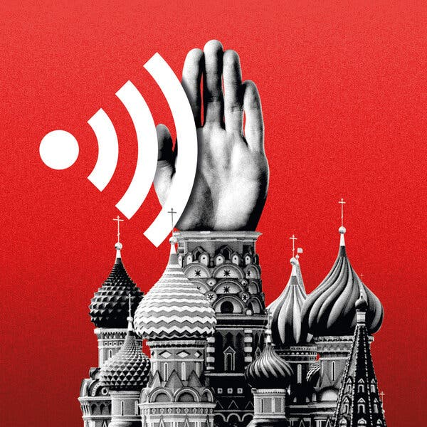 Russia Raises Heat on Twitter, Google and Facebook in Online Crackdown